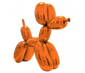 'Balloon Dog (Orange)' by Jeff Koons has become the most expensive work by a living artist sold at auction