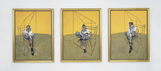 Francis Bacon's Three Studies of Lucian Freud'has become the most expensive art work ever to sell at auction