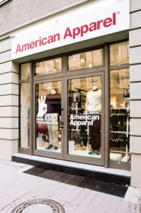 AMERICAN APPAREL NEW BERLIN STORE