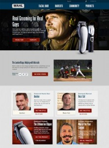 WAHL CLIPPER CORPORATION NEW WEBSITE