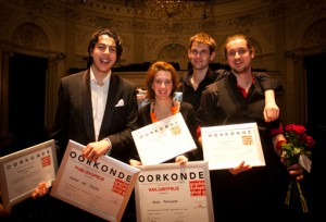 Winnaars Nederlands Conservatorium Concours 2013