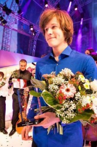 Urban Stanic from Slovenia who came 2nd at Eurovision Young Musicians 2014