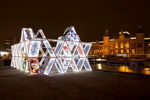 House of Cards, artist OGE Creative Group, copyright Janus van den Eijnden