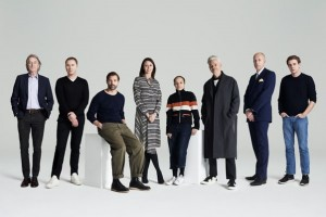 Chair of London Collections Men, Dylan Jones OBE, and Caroline Rush CBE are joined by designers Gordon Richardson (Topman), Grace Wales Bonner (Wales Bonner), Jonathan Anderson (J.W.Anderson), Patrick Grant (E. Tautz), Sir Paul Smith and Stuart Vevers (Coach).