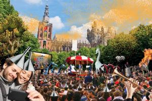 Artistimpression opening event Parade swqaure 's-Hertogenbsch 12feb2016