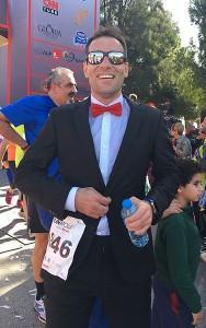 Erkan Bacak after finishing RUNATOLIA (PRNewsFoto/Kosu Dunyamiz, LLC)