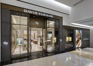 David Yurman Boutique Exterior at King of Prussia Mall in King of Prussia, PA (Courtesy of Jeffrey Totaro) (PRNewsFoto/David Yurman)