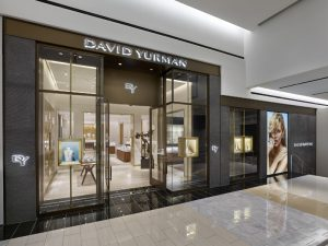 David Yurman Boutique Exterior at King of Prussia Mall in King of Prussia, PA (Courtesy of Jeffrey Totaro) (PRNewsFoto/David Yurman)