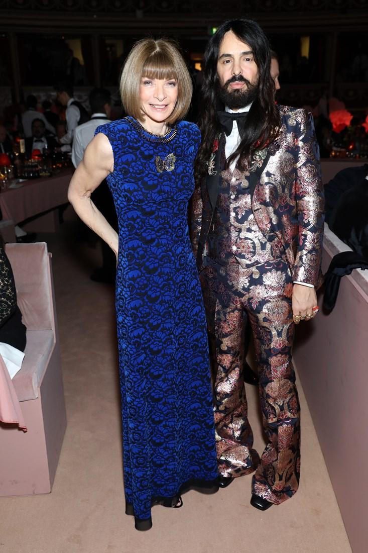 Anna Wintour & Alessandro Michele