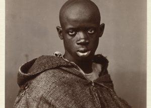 Antonio Cavilla, Portret van een Noord-Afrikaanse man, 1880